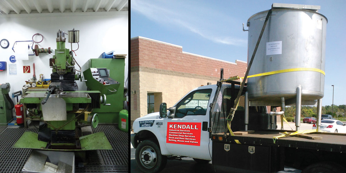 Industrial Services | Kendall Mechanical Services LLC